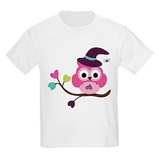 Cute Halloween Owl T-Shirt