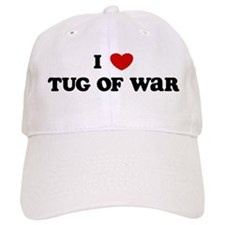 I Love Tug Of War Baseball Cap