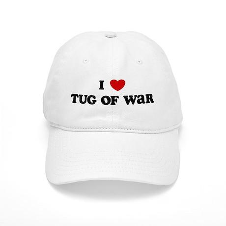 I Love Tug Of War Cap