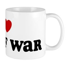 I Love Tug Of War Mug