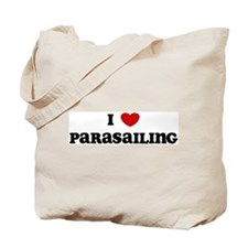 I Love Parasailing Tote Bag