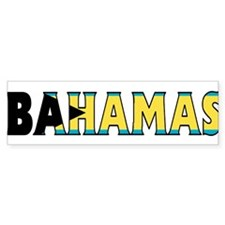 Bahamas Bumper Bumper Sticker