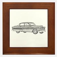 1953 car Framed Tile