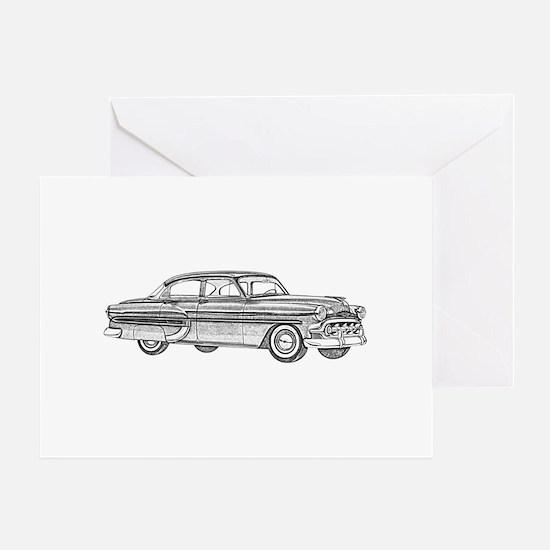 1953 car Greeting Card