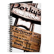 Porky's Fine Food Journal