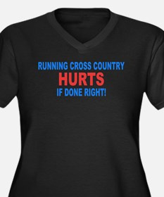 Cross Country Hurts Done Right Plus Size T-Shirt
