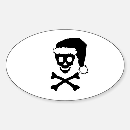 YO HO HO Oval Decal