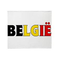 Belgium 1 Throw Blanket