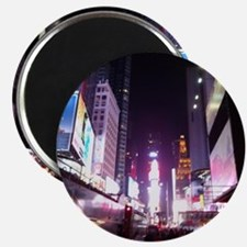 New York Times Square at Night Magnet