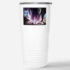 New York Times Square at Night Travel Mug
