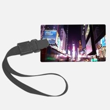 New York Times Square at Night Luggage Tag