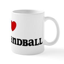 I Love Beach Handball Mug