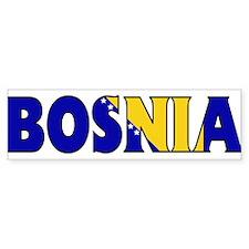 Bosnia Bumper Bumper Sticker