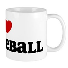 I Love Paddleball Mug