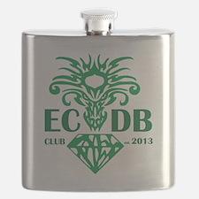 Emerald City Dragon Boat Club Flask
