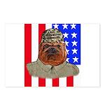 Bullldog Marine Postcards (Package of 8)