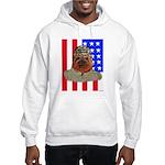 Bullldog Marine Hooded Sweatshirt