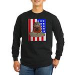 Bullldog Marine Long Sleeve Dark T-Shirt