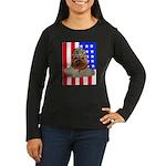 Bullldog Marine Women's Long Sleeve Dark T-Shirt