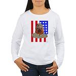 Bullldog Marine Women's Long Sleeve T-Shirt