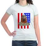Bullldog Marine Jr. Ringer T-Shirt