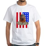 Bullldog Marine White T-Shirt