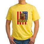 Bullldog Marine Yellow T-Shirt