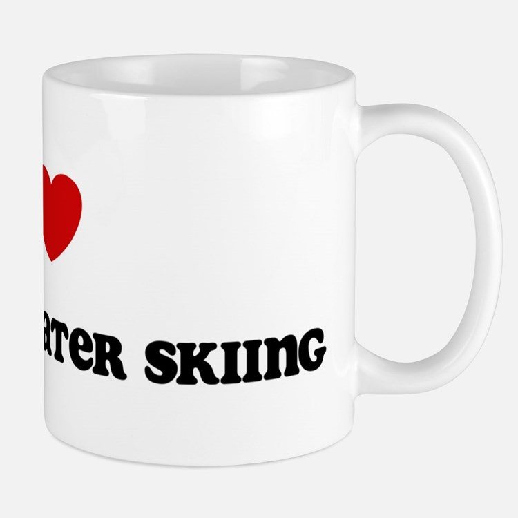 I Love Barefoot Water Skiing Mug