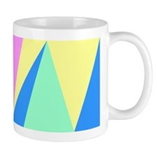 Pink Yellow Blue Green Blue Mug