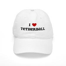 I Love Tetherball Baseball Cap