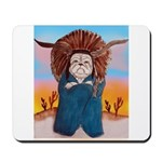 Chief Standing Bull Mousepad