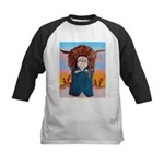 Chief Standing Bull Kids Baseball Jersey