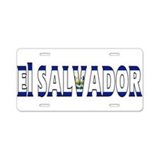 El Salvador Aluminum License Plate