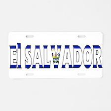 El Salvador Aluminum License Plate