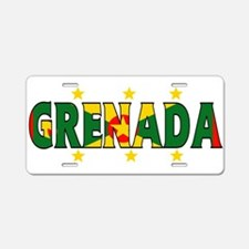 Grenada Aluminum License Plate