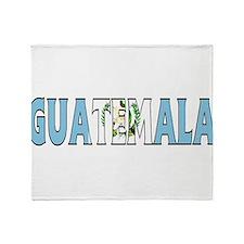 Guatemala Throw Blanket