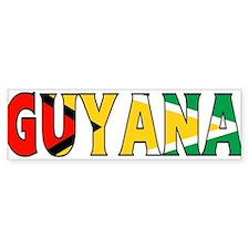 Guyana Bumper Bumper Sticker