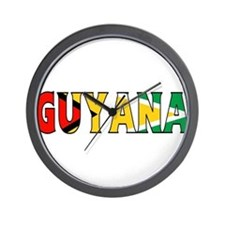 Guyana Wall Clock