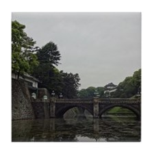 Imperial Palace of Tokyo Tile Coaster