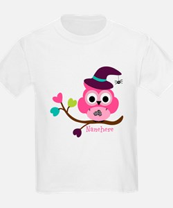 Personalized Wicked Witch Owl T-Shirt