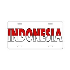Indonesia Aluminum License Plate