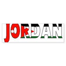 Jordan Bumper Bumper Sticker