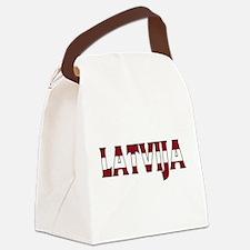 Latvia Canvas Lunch Bag
