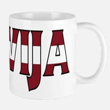 Latvia Mugs