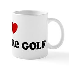 I Love Miniature Golf Mug
