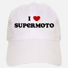 I Love Supermoto Baseball Baseball Cap