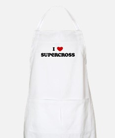 I Love Supercross BBQ Apron