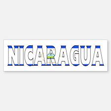 Nicaragua Bumper Bumper Bumper Sticker