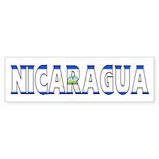Nicaragua Bumper Bumper Sticker