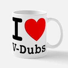I Heart V-Dubs Mug